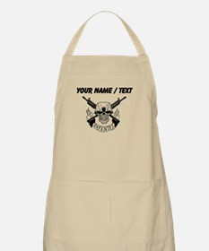 Custom Military Infantry Skull Apron