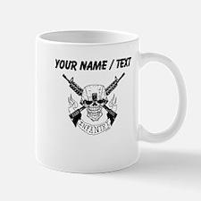Custom Military Infantry Skull Mugs