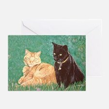 Puma Cats Greeting Cards 10 Pk, blank inside