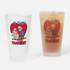 Custom Funny Anniversary Drinking Glass