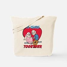 Custom Funny Anniversary Tote Bag