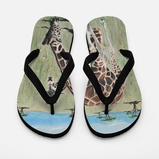 On the Plains Flip Flops