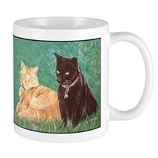 Puma Cats Mug, right side art