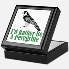 Rather Be A Peregrine Keepsake Box