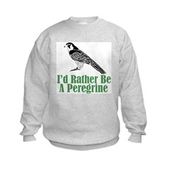 Rather Be A Peregrine Sweatshirt