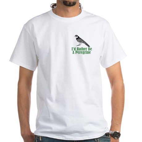 Rather Be A Peregrine White T-Shirt