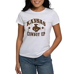 Kansas Cowboy Up! Tee