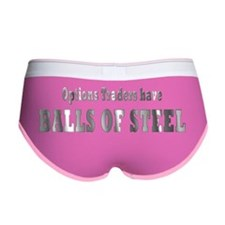 Options traders have balls of st Women's Boy Brief