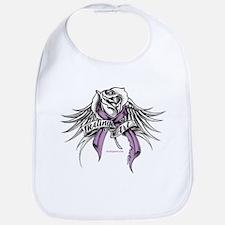 Healing Art Wings Survivor Ribbon Bib