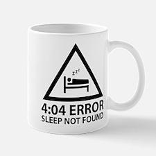 4:04 Error Sleep Not Found Mug
