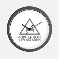 4:04 Error Sleep Not Found Wall Clock