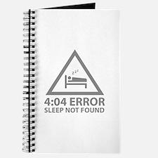4:04 Error Sleep Not Found Journal