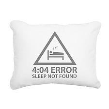4:04 Error Sleep Not Found Rectangular Canvas Pill