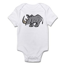Cute Cartoon Rhinoceros Onesie
