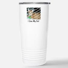 CUSTOMIZE Add Photo Love Cat Travel Mug
