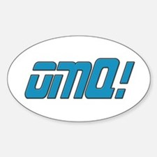OMQ! Oval Decal