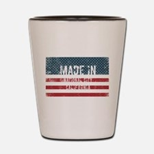 Made in National City, California Shot Glass