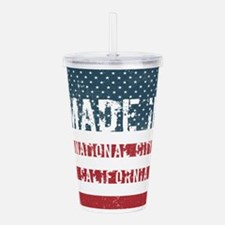 Made in National City, Acrylic Double-wall Tumbler
