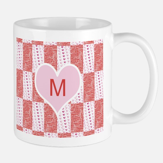 Customize Monogram Valentine Mugs