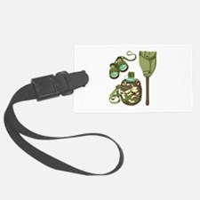 Camping Survival Gear Luggage Tag