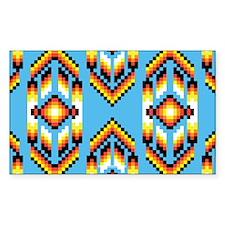 Native American Design Wind Decal