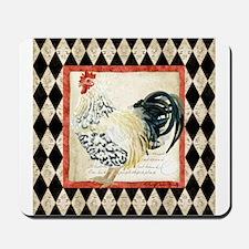 Spangled Allen Setter Rooster Black n White Mousep