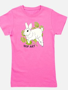 Hop Art Girl's Tee