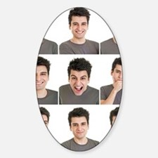 Man face expressions Decal