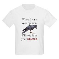Entrails on Wht T-Shirt