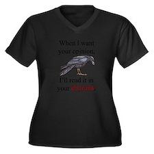 Entrails on Wht Plus Size T-Shirt