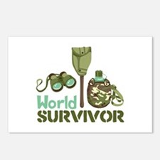 World Survivor Postcards (Package of 8)