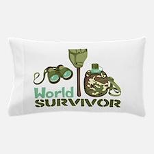World Survivor Pillow Case