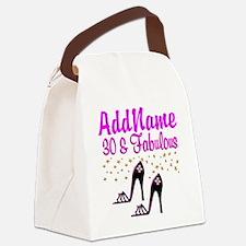 30TH HIGH HEEL Canvas Lunch Bag