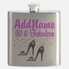 30TH HIGH HEEL Flask