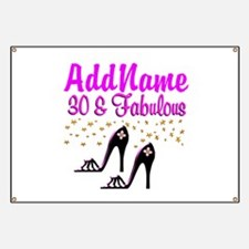 30TH HIGH HEEL Banner
