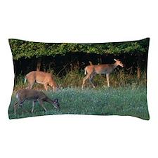 Grazing Deer Pillow Case