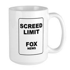 Large Screed Limit Mug