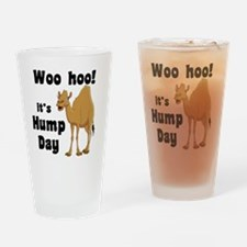 Hump Day Drinking Glass