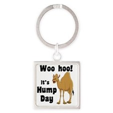 Hump Day Square Keychain