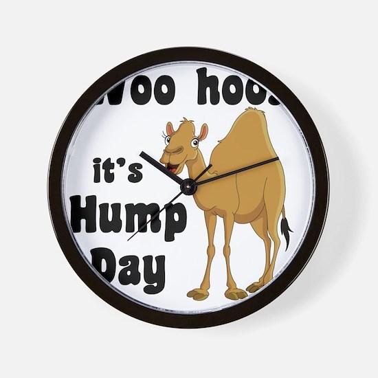 Hump Day Wall Clock