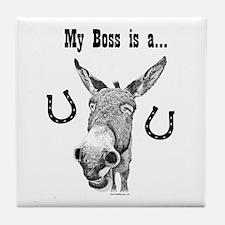 Jackass Boss Tile Coaster