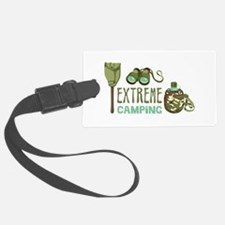 Extreme Camping Luggage Tag