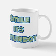 Smile its Saturday Mug