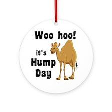 Hump Day Round Ornament