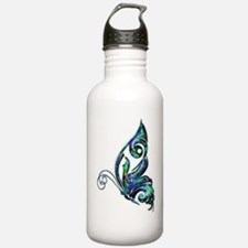 Abalone Shell Art Deco Water Bottle