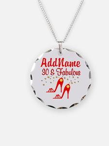 30TH STILETTO Necklace