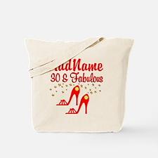 30TH STILETTO Tote Bag