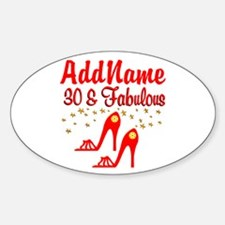 30TH STILETTO Decal