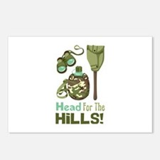 Head for the Hills Postcards (Package of 8)