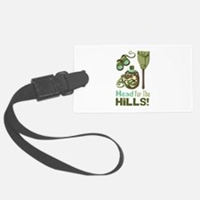 Head for the Hills Luggage Tag
